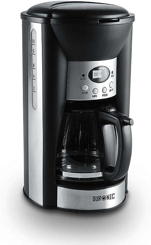 Duronic CM125 Cafetera de Goteo 1000W Programable 1,25 L - Máquina ...