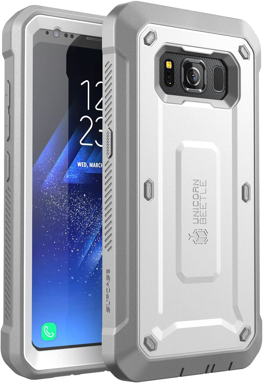 Full-Body Hybrid Case with Screen Protector Black SM-G870A SUPCASE Unicorn Beetle PRO Series Case for Galaxy S5 Active