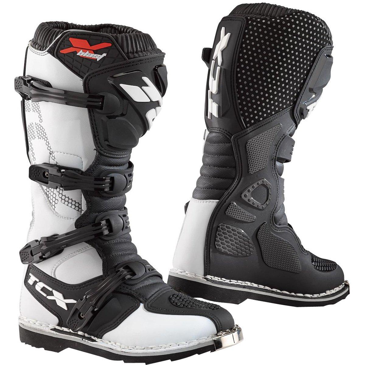 TCX X-Blast メンズ オフロードバイクブーツ - ホワイト/40 B07D5VRG8B