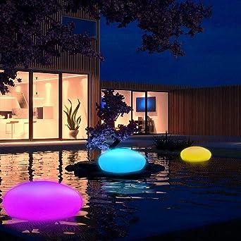 Luces Solares LED Exterior Inalámbricas IP65 Impermeable, Lámparas Solares Enterrada para Jardín Exteriores Escaleras Paisaje Patios Caminos: Amazon.es: Iluminación
