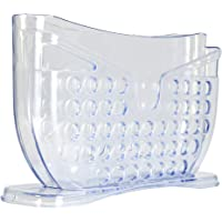 Rolling Fun Rice Paper Roll Water Bowl Clear Plastic– Stylish Design for All Sizes of Rice Paper Wrapper, Very Stable Base, Tool to Make Vietnamese Cuisine Rice Paper Rolls and Spring Rolls - Use at Home Kitchen or Café Business to Make Healthy snacks for adults and kids