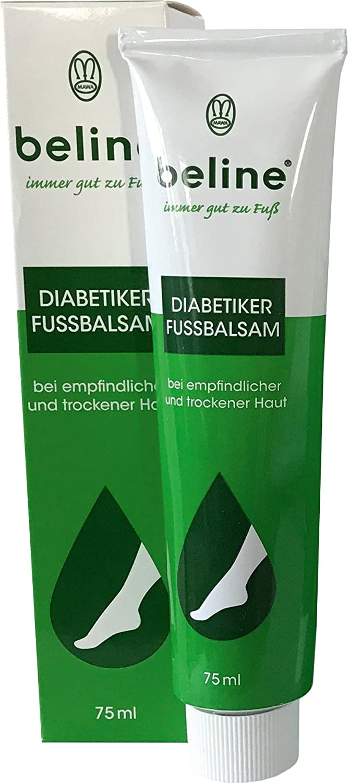 Mawa-Kosmetik Beline Diabetiker Fußbalsam, 2er Pack (2 x 75 ml) 10484