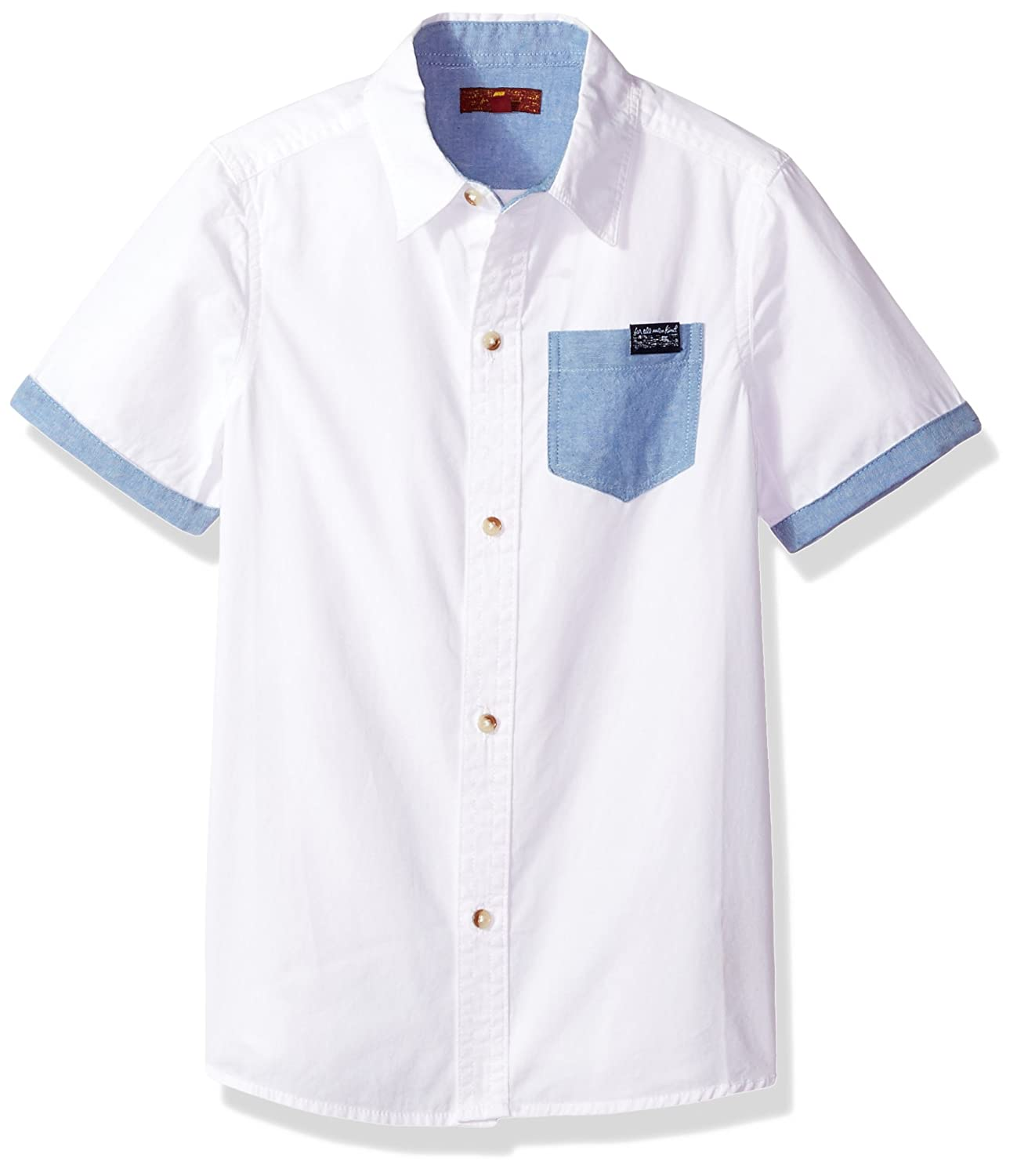 7 For All Mankind Boys' S/S Shirt 2