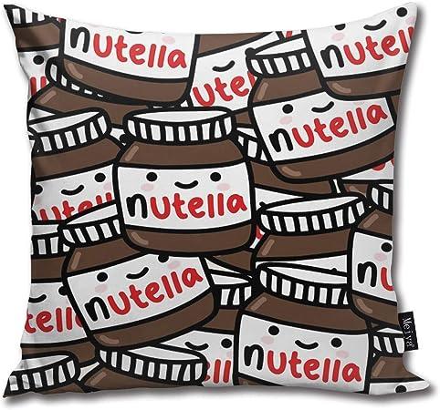 Nutella Funny Cuscini per//Cushion /& Pillow Cover