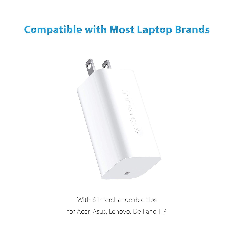 Amazon.com: Innergie 65U - Cargador universal para ordenador ...
