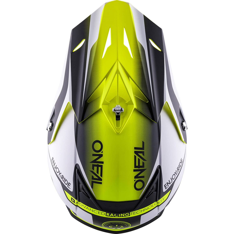 XS 53-54cm Gr/ö/ße ONeal 5 Series Motocross Enduro MTB Helm Blocker wei/ß//schwarz//gelb 2018 Oneal