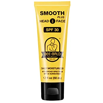 Bee Bald Smooth Plus Daily Moisturizer