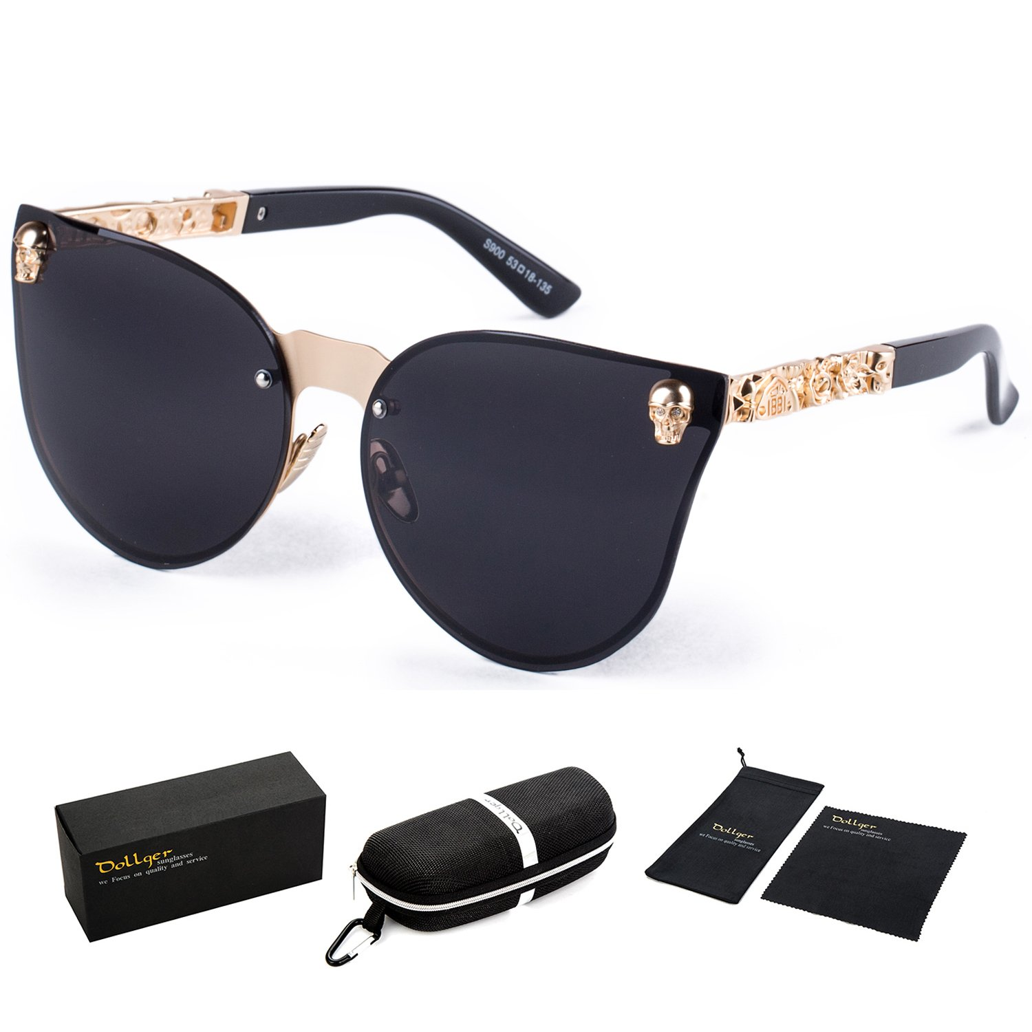 6310dc5fdd non-polarized. Lens width  66 millimeters. THE SKULL AND CAT EYE DESIGNS -  Sunglasses collection remains true to its classic heritage while  continuously ...