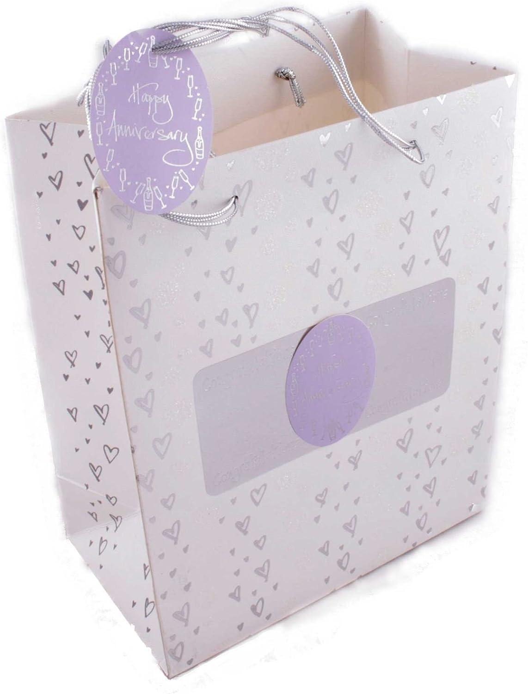 Large Anniversary Gift Bag by Hooli Mooli accessories