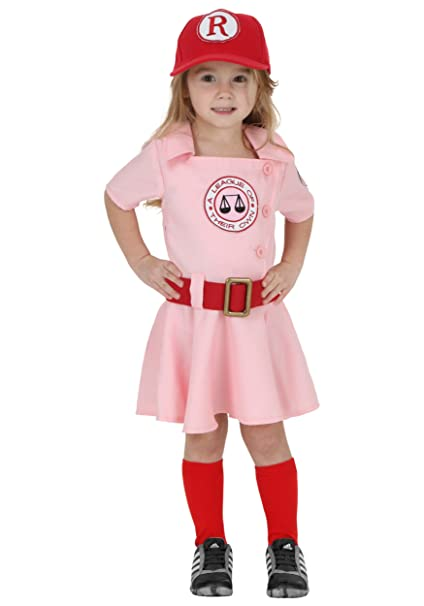 Vintage Style Children's Clothing: Girls, Boys, Baby, Toddler A League of Their Own Toddler Dottie Baseball Costume $39.99 AT vintagedancer.com
