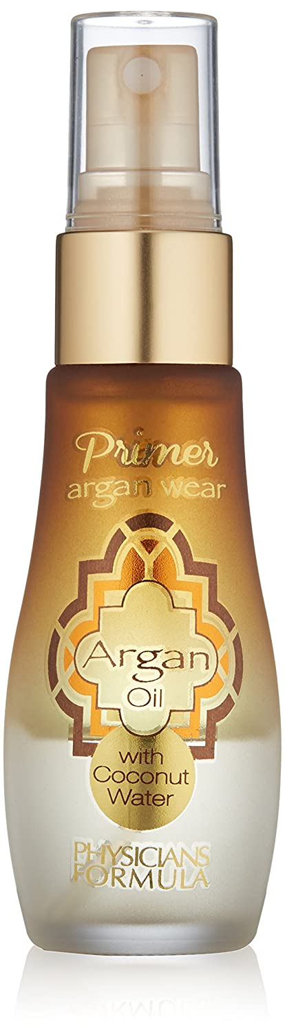 Physicians Formula Argan Wear 2-in-1 Argan Oil and Coconut Water Primer, 1 Fluid Ounce 1 Count