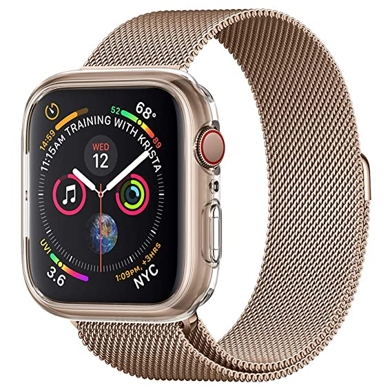 3ca5f9e197 Image Unavailable. Image not available for. Color: Spigen Liquid Crystal Designed  for Apple Watch Case for 44mm Series ...