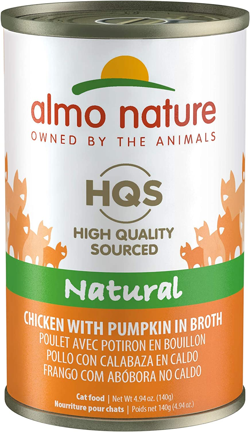 Almo Nature HQS Natural Cat Canned Wet food