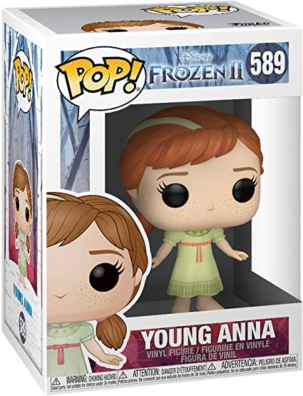 Funko Pop Disney Frozen 2 Young Anna Funko Toys Games