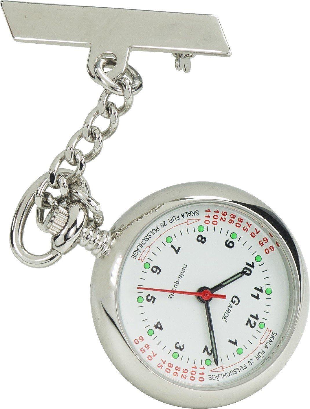 Gardé Universal Reloj de bolsillo para mujeres Reloj Enfermera (Pulsómetro): Amazon.es: Relojes