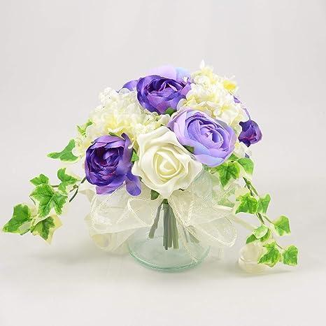 Diseño De Flores De Boda Artificial Mano Fabricado Por