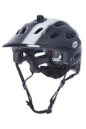 Cascos MTB Bell Super blanco/negro (Tamaño de la cabeza: 59-63