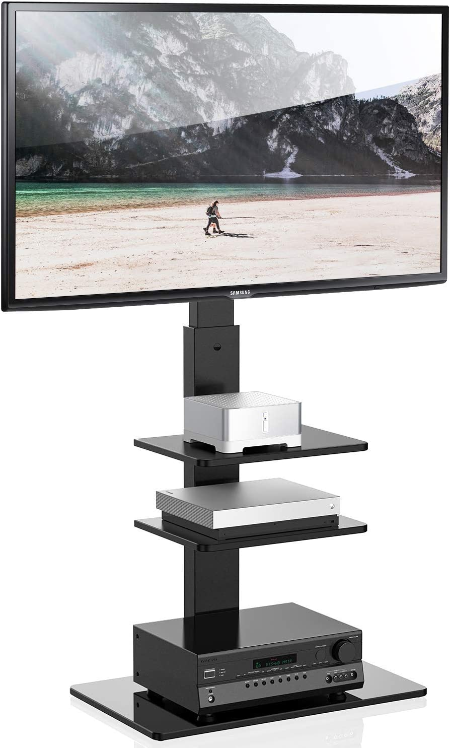 FITUEYES Swivel TV Stand with Mount for 32-65 Inch TT307001MB