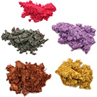 SUPVOX 5 unids Polvo de Mica pigmentos