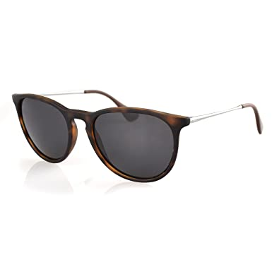 b0c51617249 LenzFlip Lenses Compatible with Ray-Ban Erika RB4171 - Brown at Amazon  Men s Clothing store