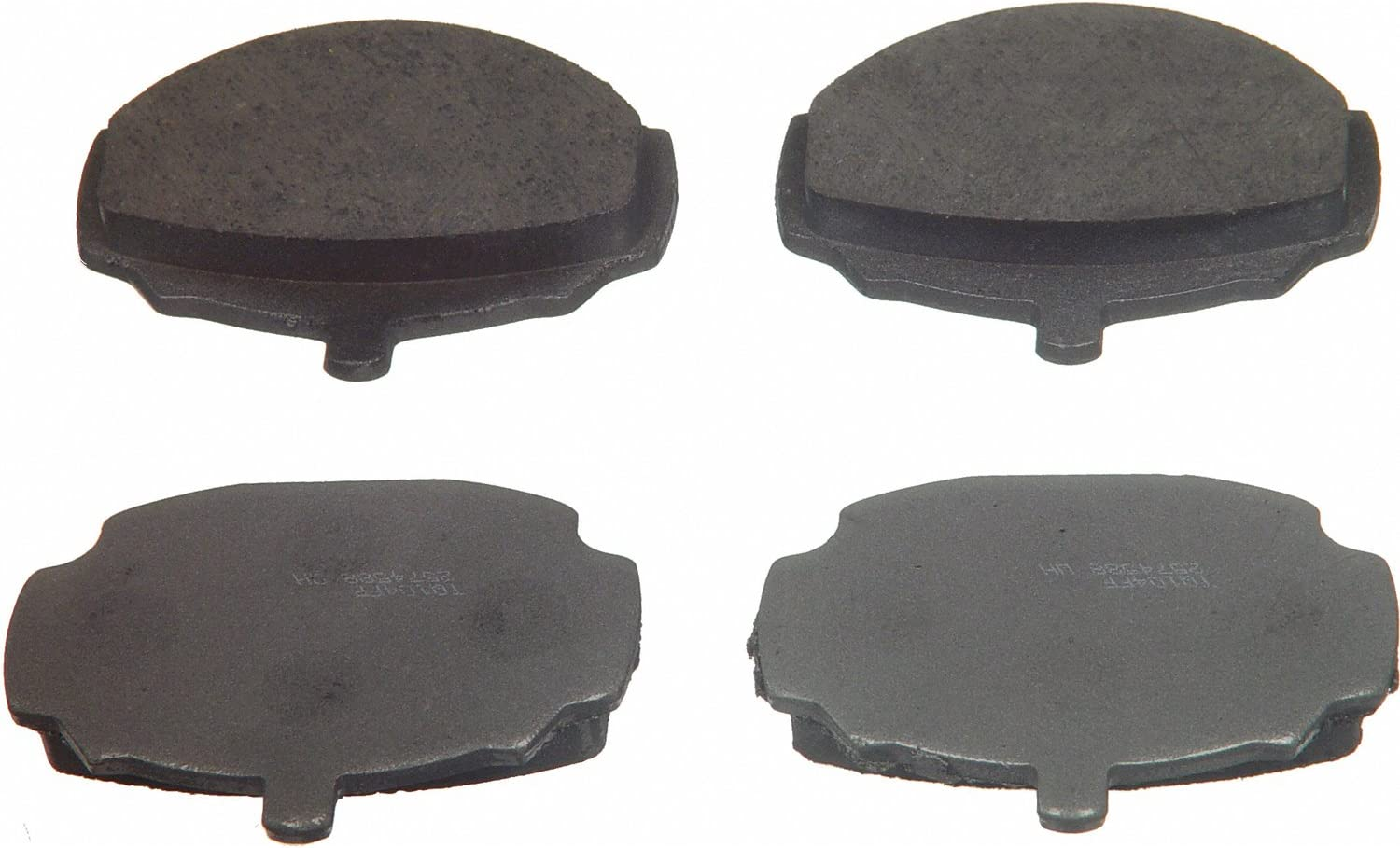 Front Wagner ThermoQuiet PD497 Ceramic Disc Pad Set