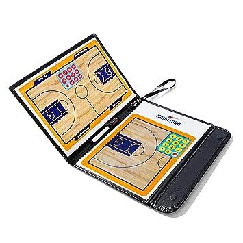 Beetest Carpeta con pizarras táctica para Entrenador de fútbol con Accesorios estudiar Estrategia ganadora Coaching Mesa Plegable portátil