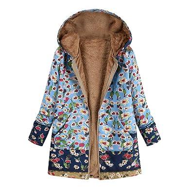 Luckycat Abrigo Invierno Mujer Chaqueta Suéter Jersey Mujer ...