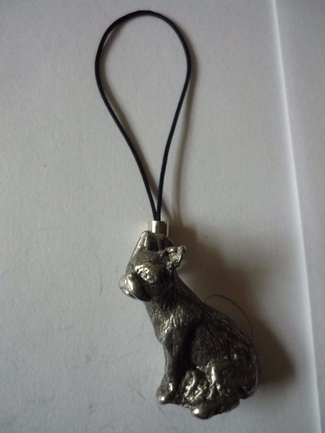 French Bulldog Dog tg8 Made From Modern English pewter Mobile Phone charm POSTED BY US GIFTS FOR ALL 2016 FROM DERBYSHIRE UK /…