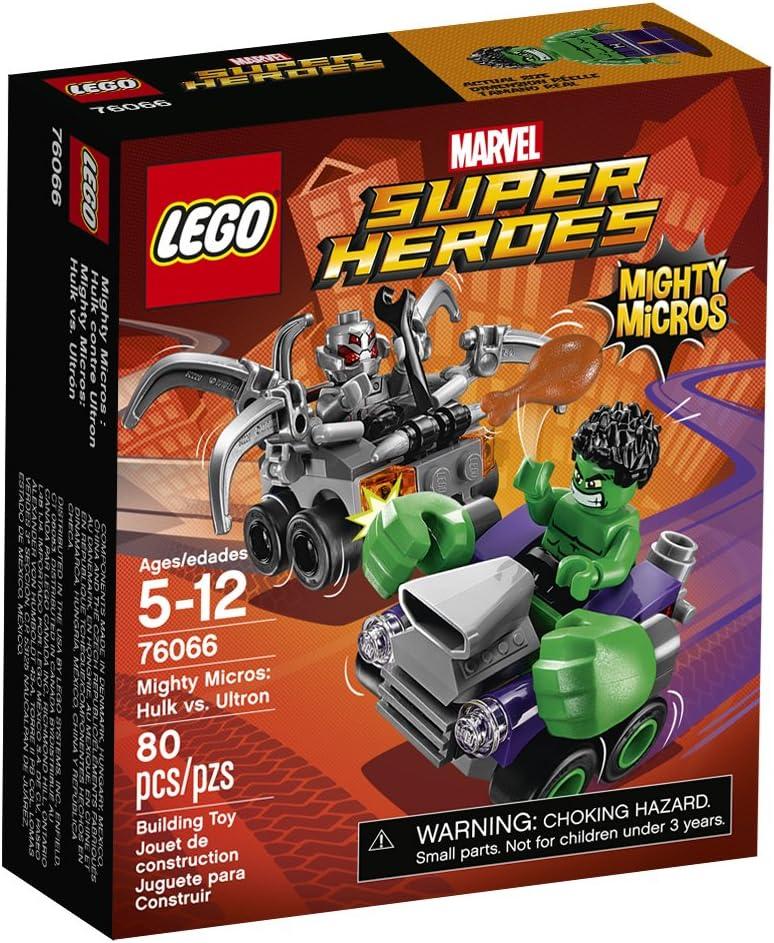 LEGO Super Heroes Mighty Micros: Hulk vs. Ultron 76066