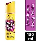 Set Wet Swag Avatar Deodorant Spray Perfume, 150 ml