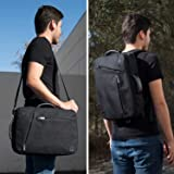 15.6-17.3 Inch Laptop Backpack Briefcase Fit Lenovo ThinkPad P71 / P72 / HP Envy 17t, 17t Touch, 17-bw0011nr / Essential 17z, 17z Value, 17-ca0011nr, 17-by0040nr / ProBook 470 G5 / Zbook 17 G3, 15 G3