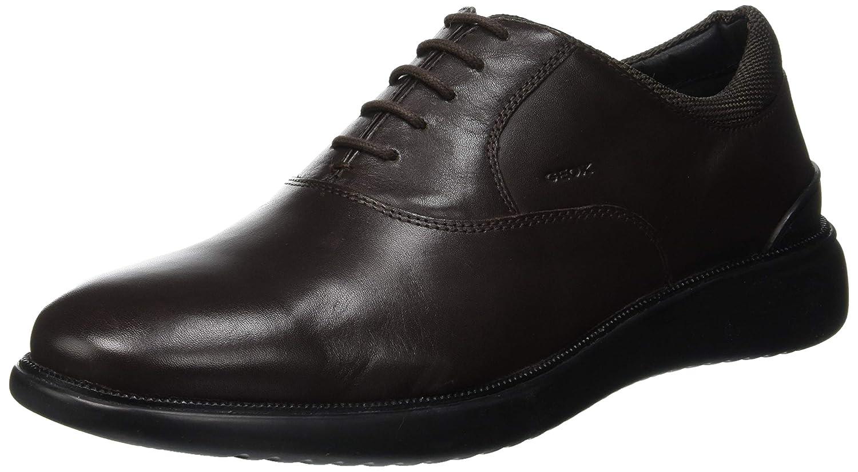 Geox U Winfred A, Zapatos de Cordones Oxford para Hombre