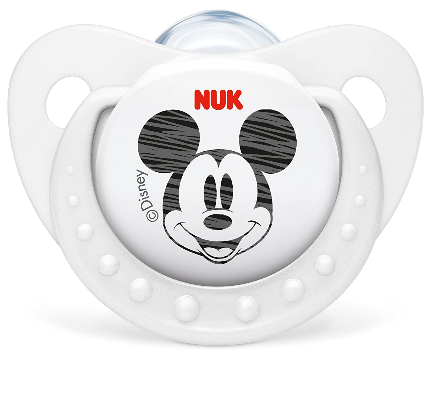 Nuk 2 Silicone Physiological Soothers Minnie Mouse Dummy  Pack of 2 6-18 Months