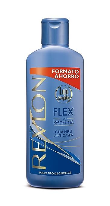 Revlon Flex Champú Anticaspa con Keratina Todo Tipo de Cabello Anti-Dandruff Shampoo All Hair