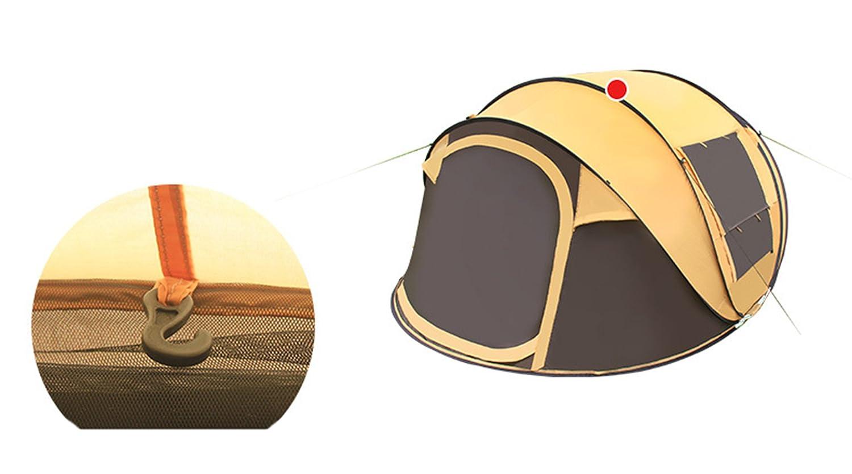 Aur-Grün Automatik 3 4 5 Regensicher Personen Regensicher 5 Sofortig Geschwindigkeit offen Pop Up Zelt Familie Aufklappen Outdoor Camping Zelte Schutz Konfiguration in Sekunden 27b86e