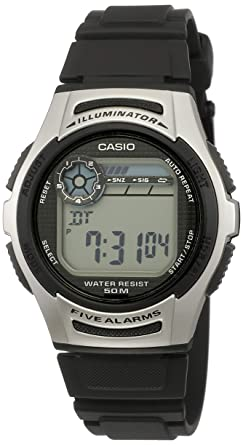 01ec5bd90b Buy Casio Youth Black Dial Men's Watch - W-213-1AVDF (D065) Online ...