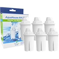 6X Aquahouse Ah-pbc filtre compatible pour Brita classique cartouche filtrante carafes, Kenwood, Laica, PearlCo Cruche, Dafi, universel classique Carafe filtre