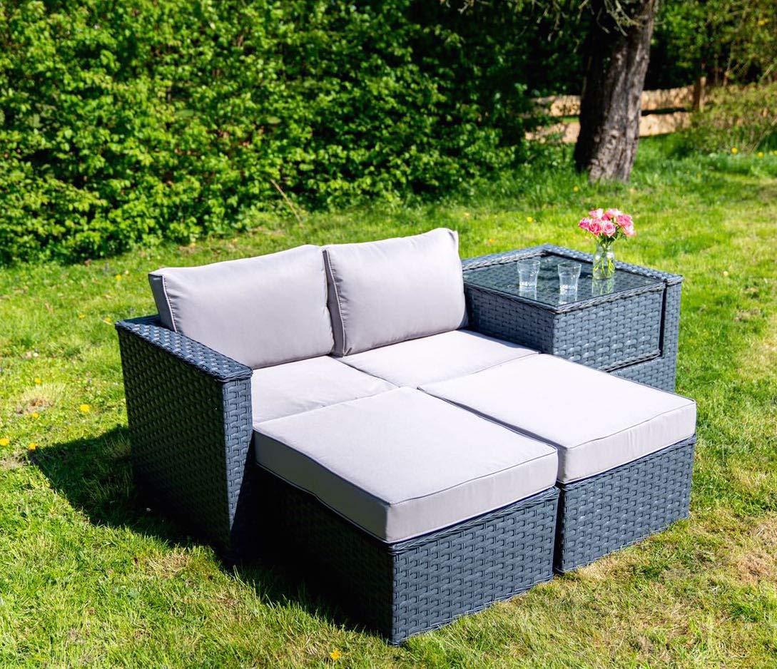Brilliant Polyrattan Gartenmobel 5 Sitzer Rattan Outdoor Sitzgruppe Cjindustries Chair Design For Home Cjindustriesco