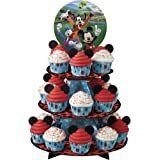 Wilton 1512-7108 Mickey and the Roadster Racers Treat Stand, Assorted
