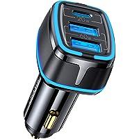 USB C autolader 80W, 3-poorts autolader 20W Type C PD & 60W dubbele USB QC 3.0 sigarettenaansteker autolader, voor…