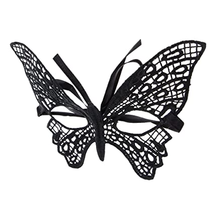 Baoblaze Máscara Mariposa Suave Ligera Diseño Vintage Cómodo Accesorio Mujer Chica