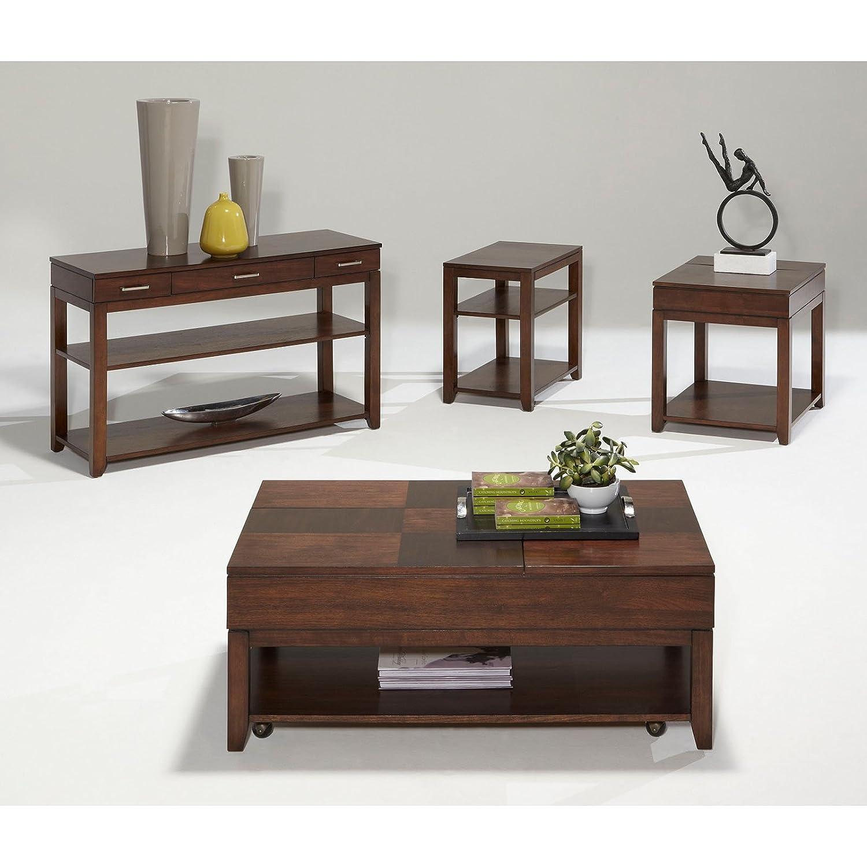 Amazoncom Progressive Furniture Daytona Double Lift Top Cocktail