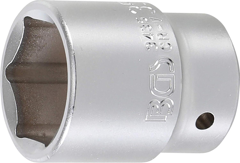 20 BGS Steckschl/üssel-Einsatz 3446 3//4 46 mm Pro Torque