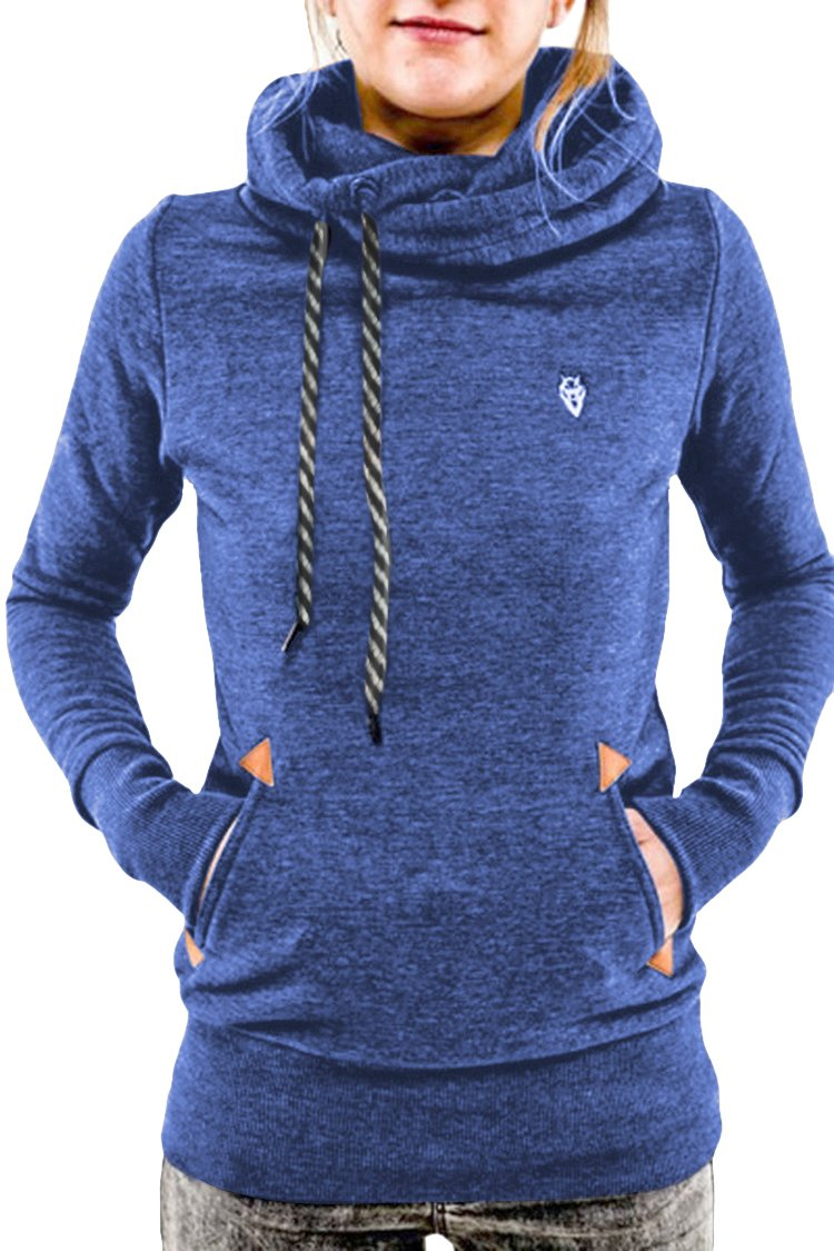Cutiefox Leisure Side Pockets Front Slim Fit Fleece