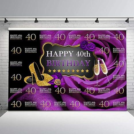 Amazon.com: Mehofoto - Fondo de vinilo para cumpleaños ...