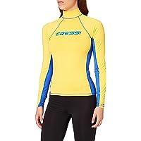 Cressi Rash Guard Lady Long SL Camiseta de Protección Mangas Largas, en Tejido Elástico Especial, Protección Solar UV…