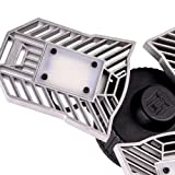 LED Garage Lighting, 6000 Lumens Deformable