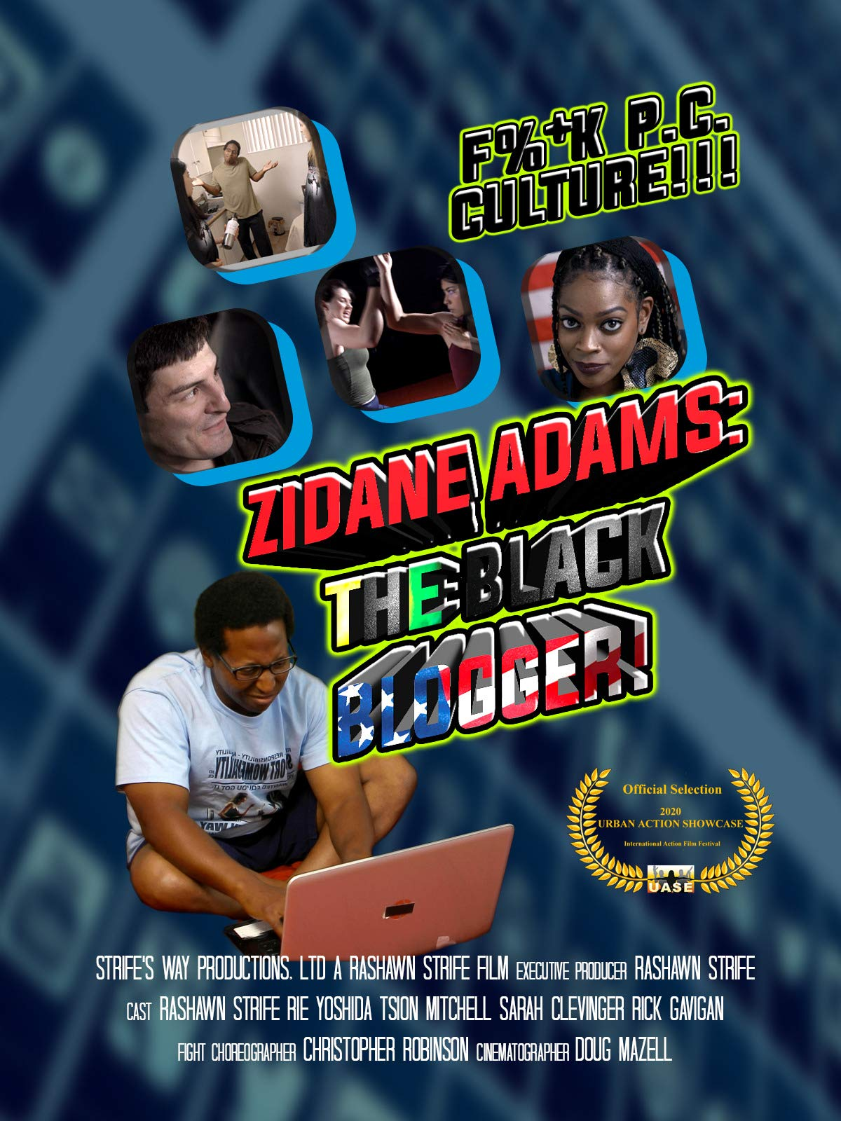Zidane Adams: The Black Blogger!