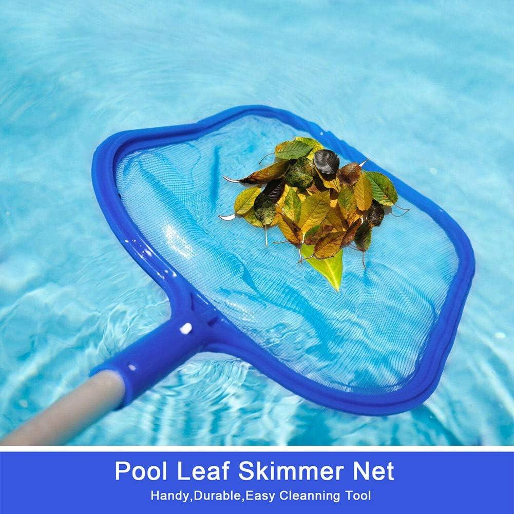 Ponds Fountains Hot Tubs Gelentea Swimming Pool Leaf Skimmer Rake Net Hot Tub Spa Cleaning Leaves Mesh Tools Pond for Pools