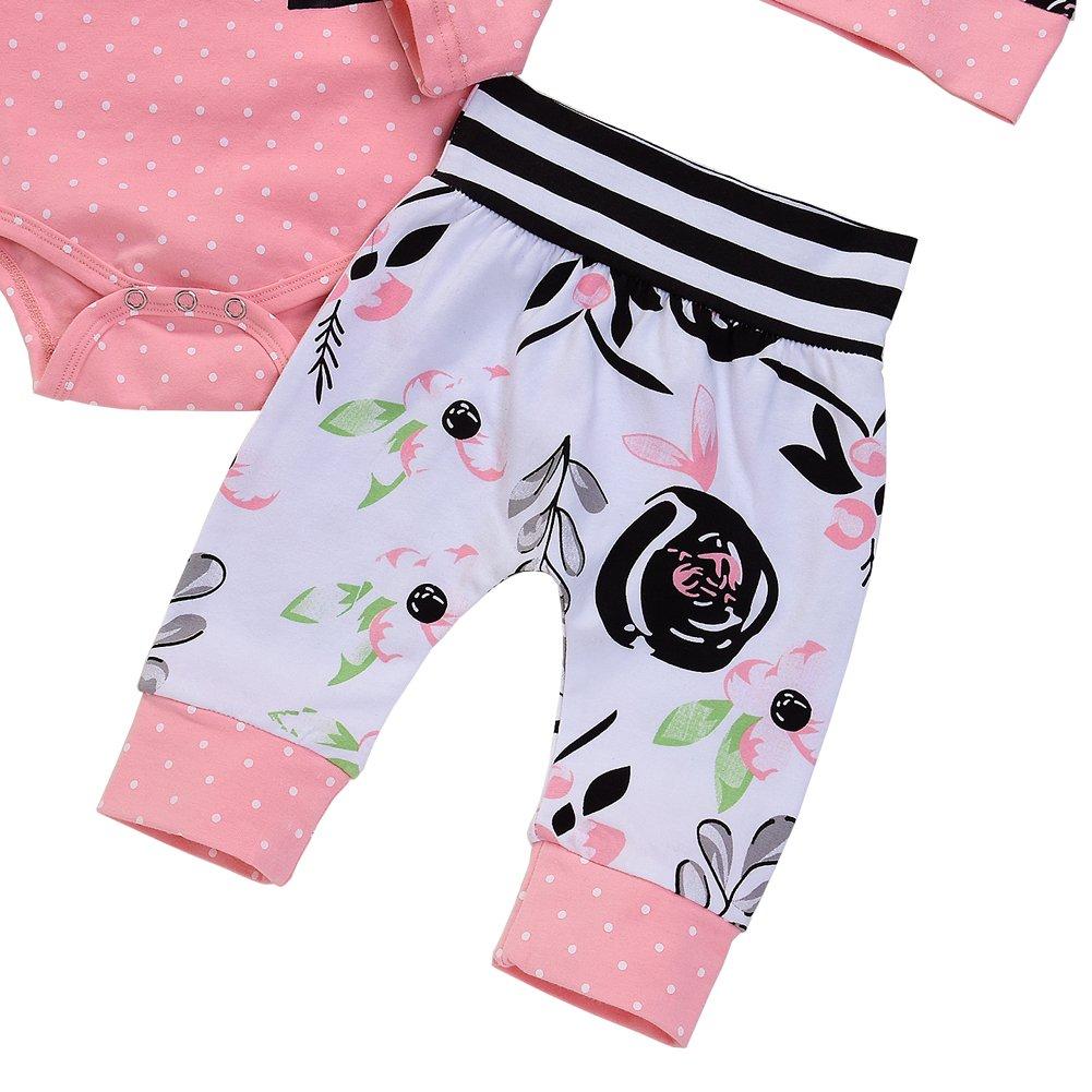 Petitebella Hot Pink Leopard Baby Skirt 3-12m